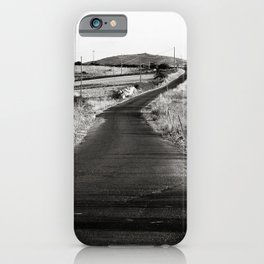 Abandoned Country Road of Sardinia in Italy iPhone Case