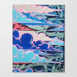 Cake Clouds Canvas Print