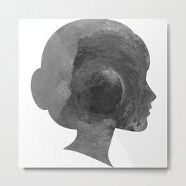 Madame Metal Print