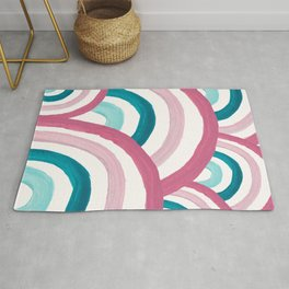 Rainbow Dream Pattern #2 (Kids Collection) #decor #art #society6 Rug