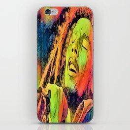 Artistic Marley iPhone Skin