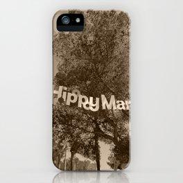 Hippy Market Sign Ibiza Tint iPhone Case