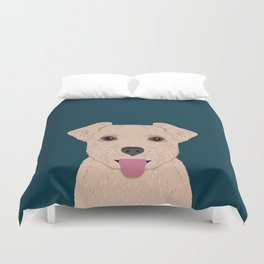 Blair - Norfolk Terrier gifts for dog lovers and pet owner gift ideas. Dog people gifts Duvet Cover