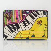 piano iPad Cases featuring Piano by Sydsart1259