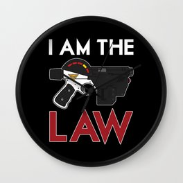 I Am the Law / Dredd Wall Clock