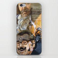 Psychoactive Bear 1 iPhone & iPod Skin