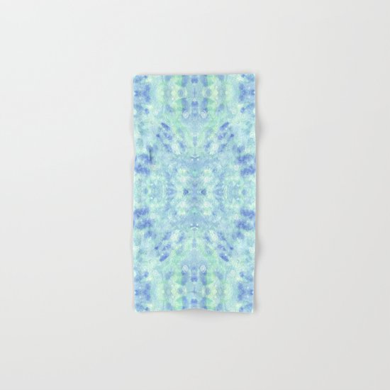 Blue lagoon Hand & Bath Towel