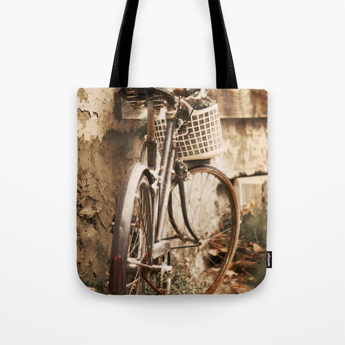 Exhausted in Harmony Tote Bag