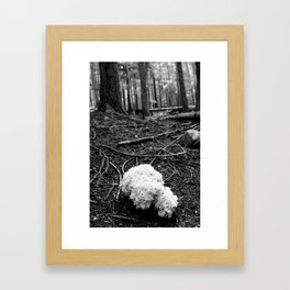 That White Noontide Cloud Framed Art Print