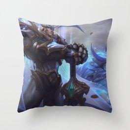 God King Garen League of Legends Throw Pillow