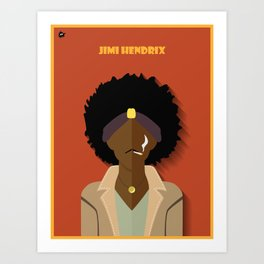 J.Hendrix Art Print