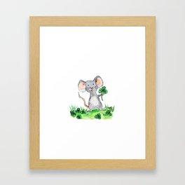 Melvin the Mouse Framed Art Print