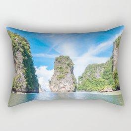 Islets in Phang Nga Bay Rectangular Pillow