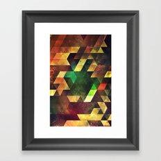 tryxyl mythyd Framed Art Print