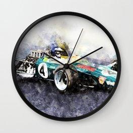 Jim Clark, Lotus 49, 1968 Wall Clock