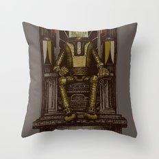 Pax Robota Throw Pillow