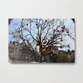 Balloon Tree1 Metal Print