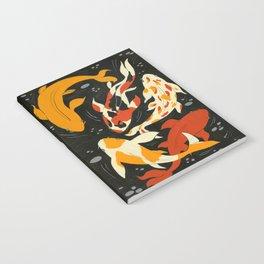 Koi in Black Water Notebook