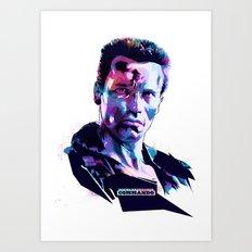 Arnold Schwarzenegger: BAD ACTORS Art Print
