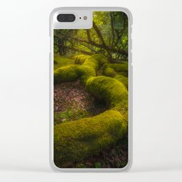 Magical forest - Ireland (RR237) Clear iPhone Case