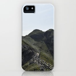 Japanese Seaside Mountain Trail iPhone Case