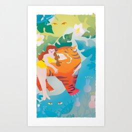 The Tyger Part 3 Art Print