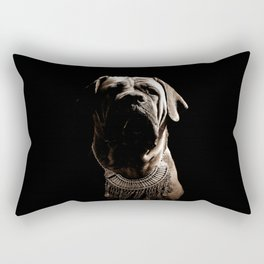 Dramatic Boerboel Rectangular Pillow