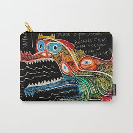Hold on to your dreams Street Art Graffiti Carry-All Pouch