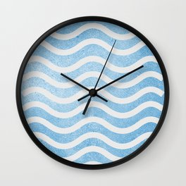 Waves. Wall Clock