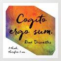Cogito ergo sum by angelkwill