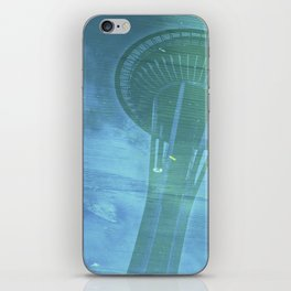 Space Needle - Infinitek Headquarters Seattle iPhone Skin