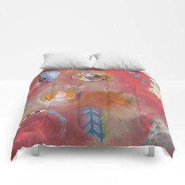 Too Pink For Comfort Comforters