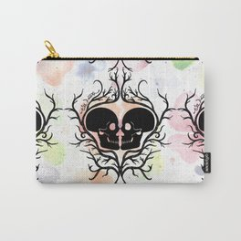 'Till Death Do Us Part (Floral) Carry-All Pouch