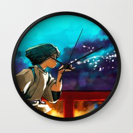 The Dragon Boy Wall Clock