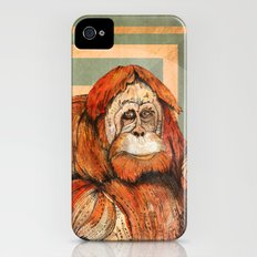 Mr. Orangutan iPhone (4, 4s) Slim Case