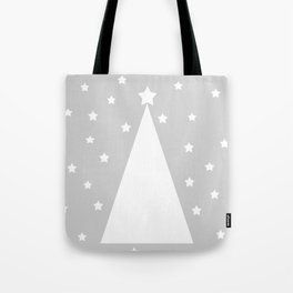 White Christmas tree  Tote Bag