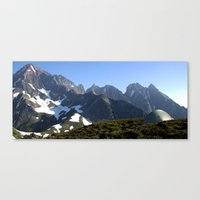 camp Canvas Prints featuring CAMP by Jayrosco
