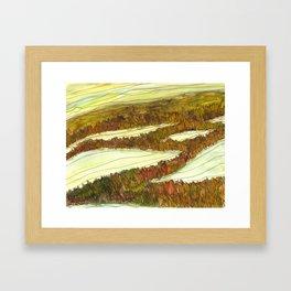 Marsh 9 Framed Art Print