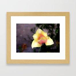 The First Bloom Framed Art Print