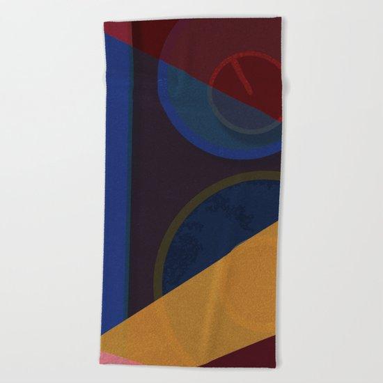 Abstract #265 Beach Towel