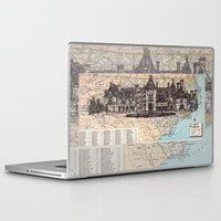 north carolina Laptop & iPad Skins featuring North Carolina by Ursula Rodgers