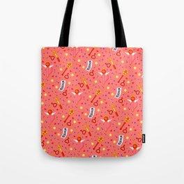 Sailor Mars Pattern / Sailor Moon Tote Bag