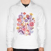 spring Hoodies featuring The Garden Crew by Teagan White
