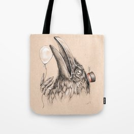 Birthday Crow Is Your Happy Omen Tote Bag