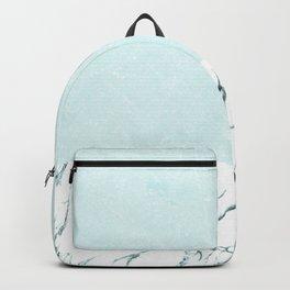 Marble & concrete - soft aqua Backpack