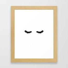 Lash Love Framed Art Print