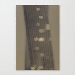 golden memories Canvas Print