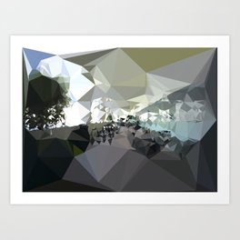 Landscape N. 4 Art Print