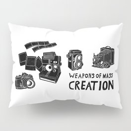 Weapons Of Mass Creation - Photography (clean) Pillow Sham