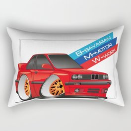 DIGITAL RAWING CARTOON CAR Rectangular Pillow